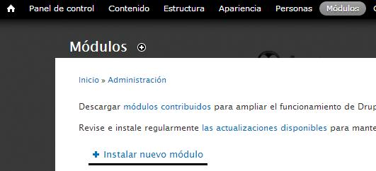 modulos-drupal